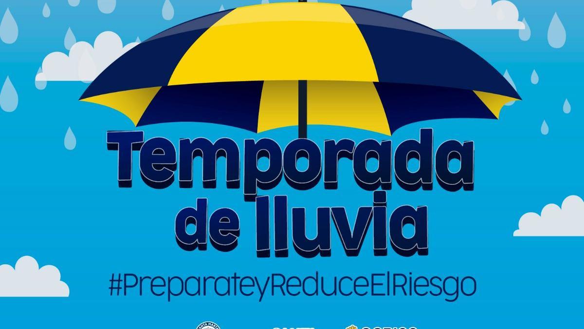 Primeras lluvias en Santa Marta por temporada de huracanes