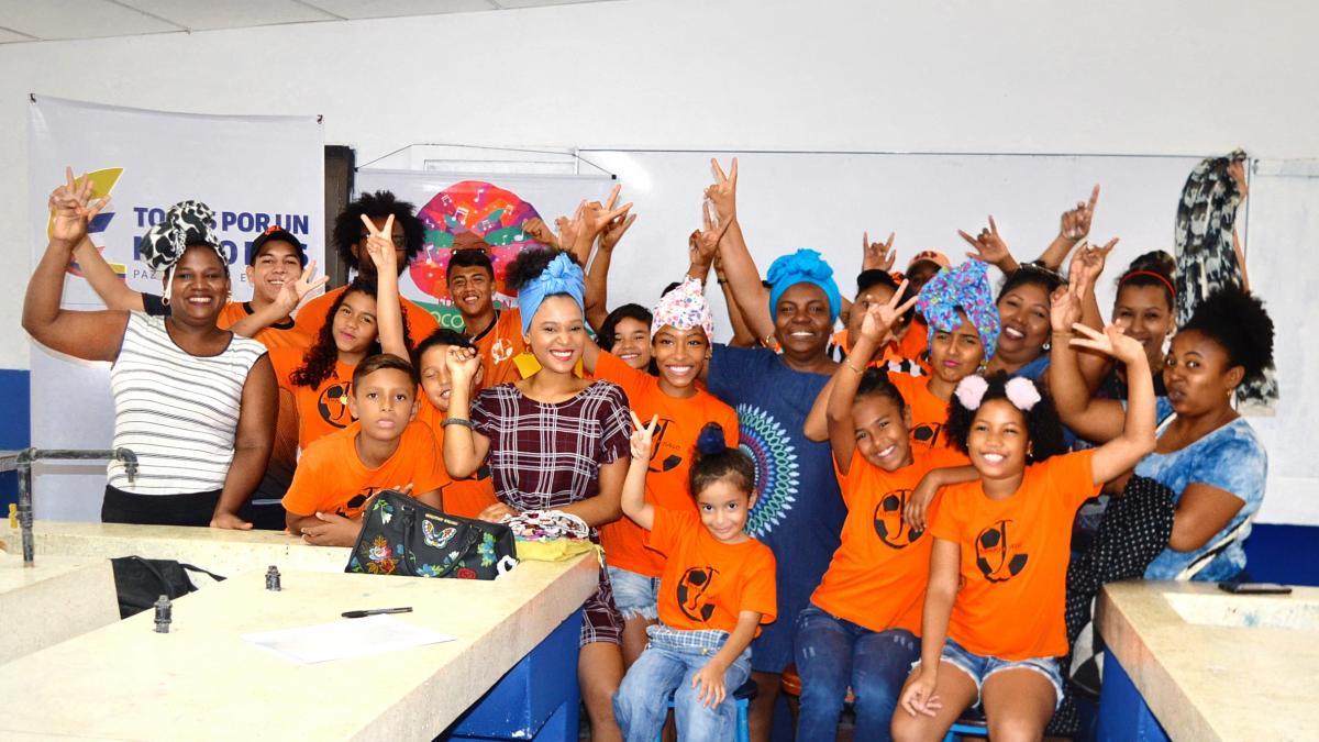Con apoyo de la Secretaría de Cultura, Santa Marta celebra el mes de la Herencia Africana