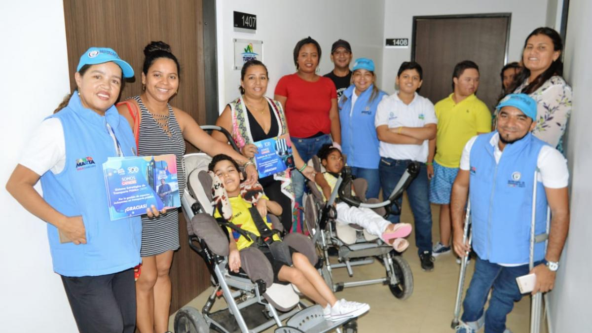 Distrito conmemoró el 'Día Internacional de las personas con Discapacidad'