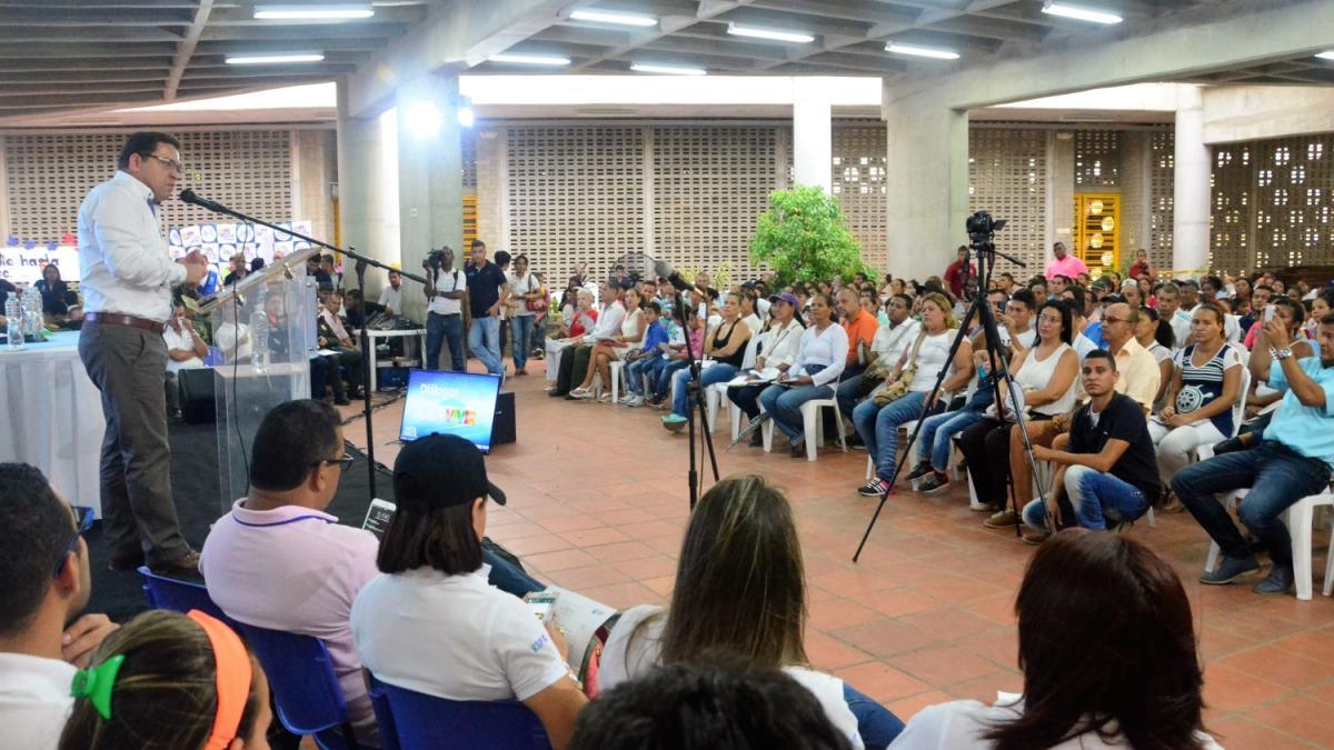 Para escuchar a las comunidades, Distrito reactiva los 'Diálogos del Cambio'