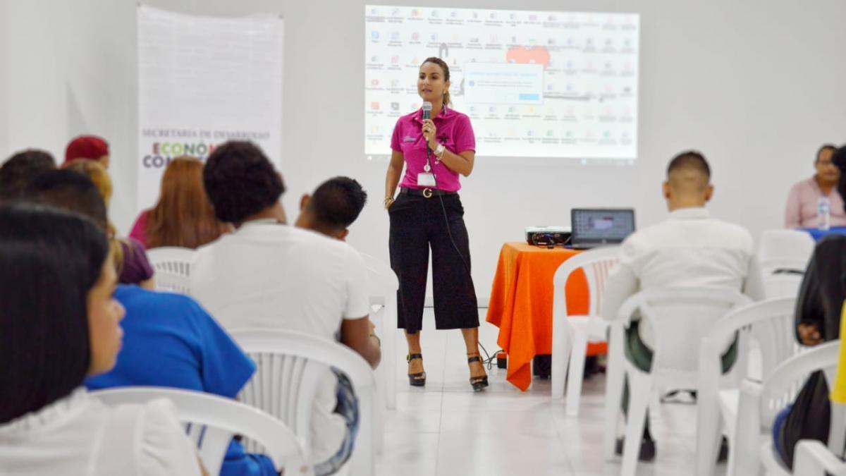Distrito capacitó en emprendimiento a jóvenes del Srpa