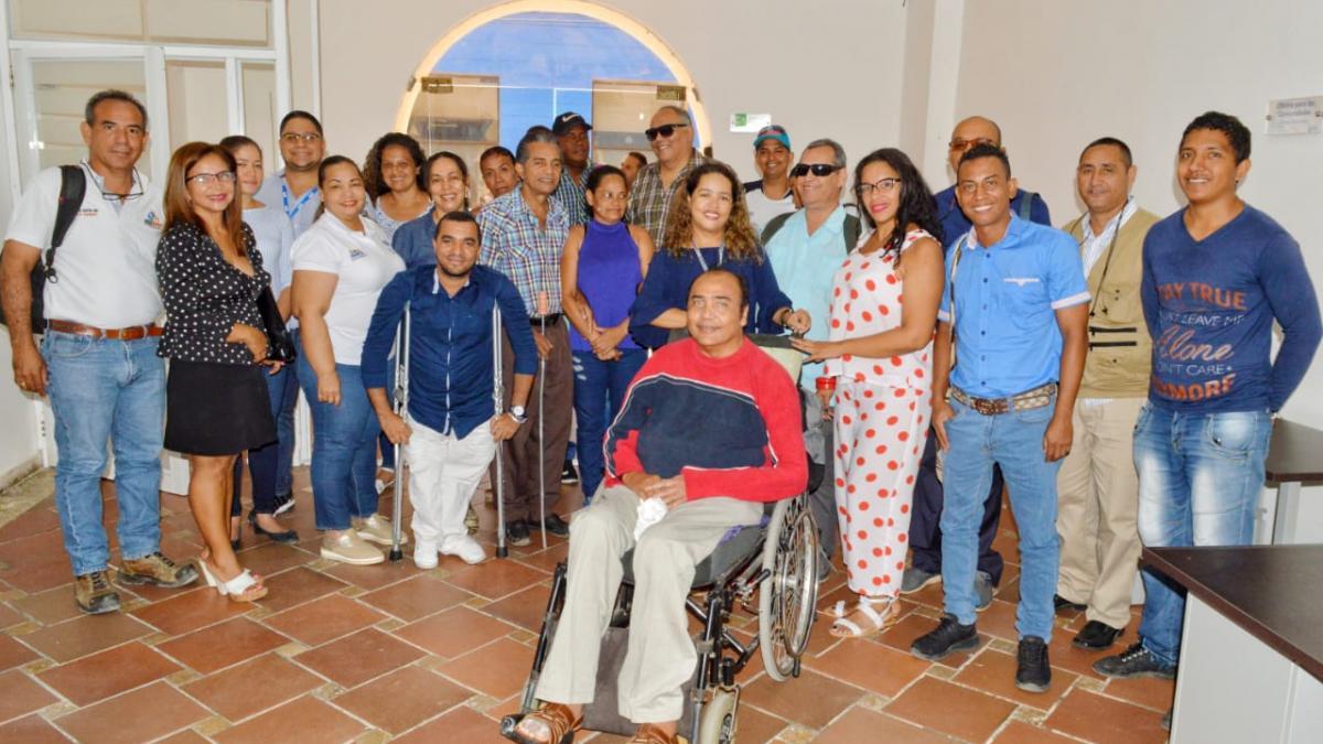 Distrito lideró Mesa Técnica de Discapacidad