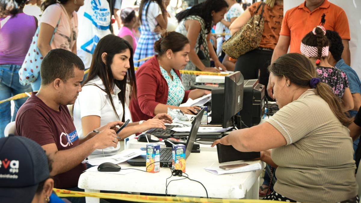 Más de mil personas de La Rosalía y Divino Niño accedieron a las 'Ferias de la Equidad y el Buen Vivir'