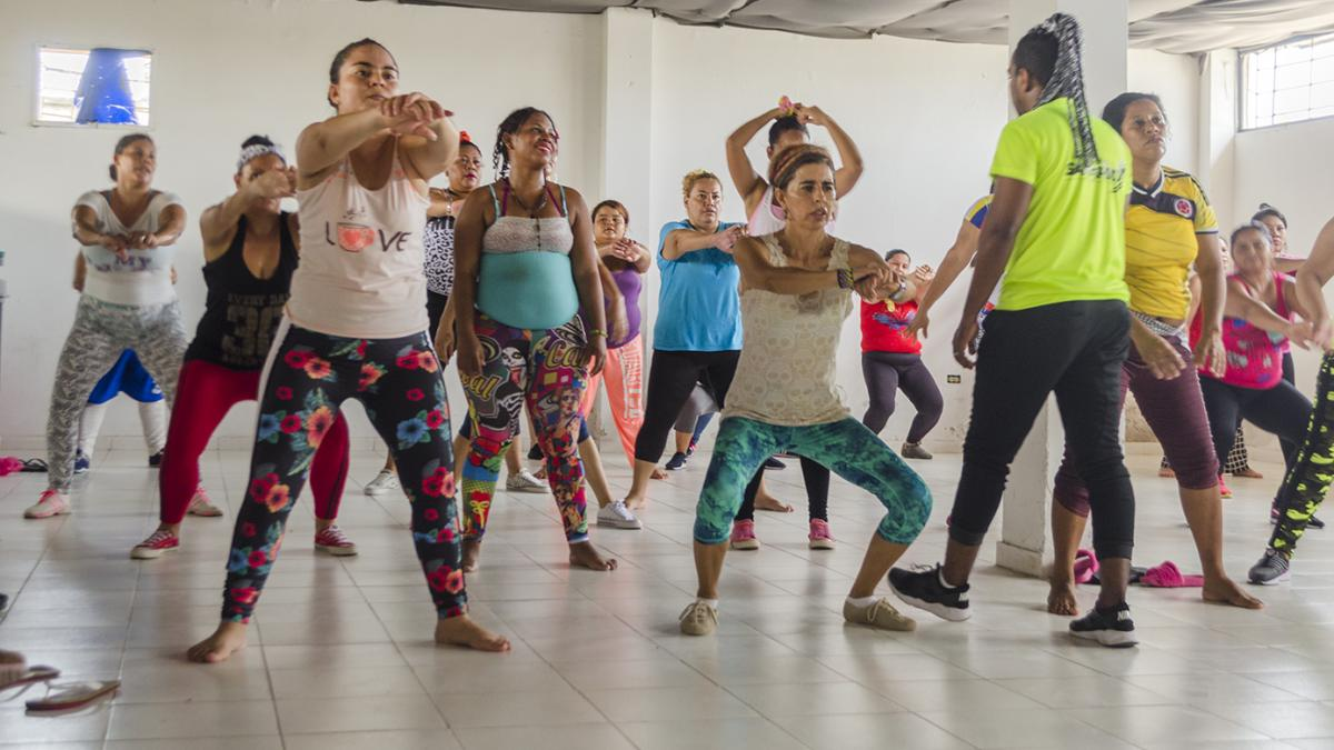 Distrito adelanta programa de Vida Saludable con las Internas de la cárcel de Bastidas