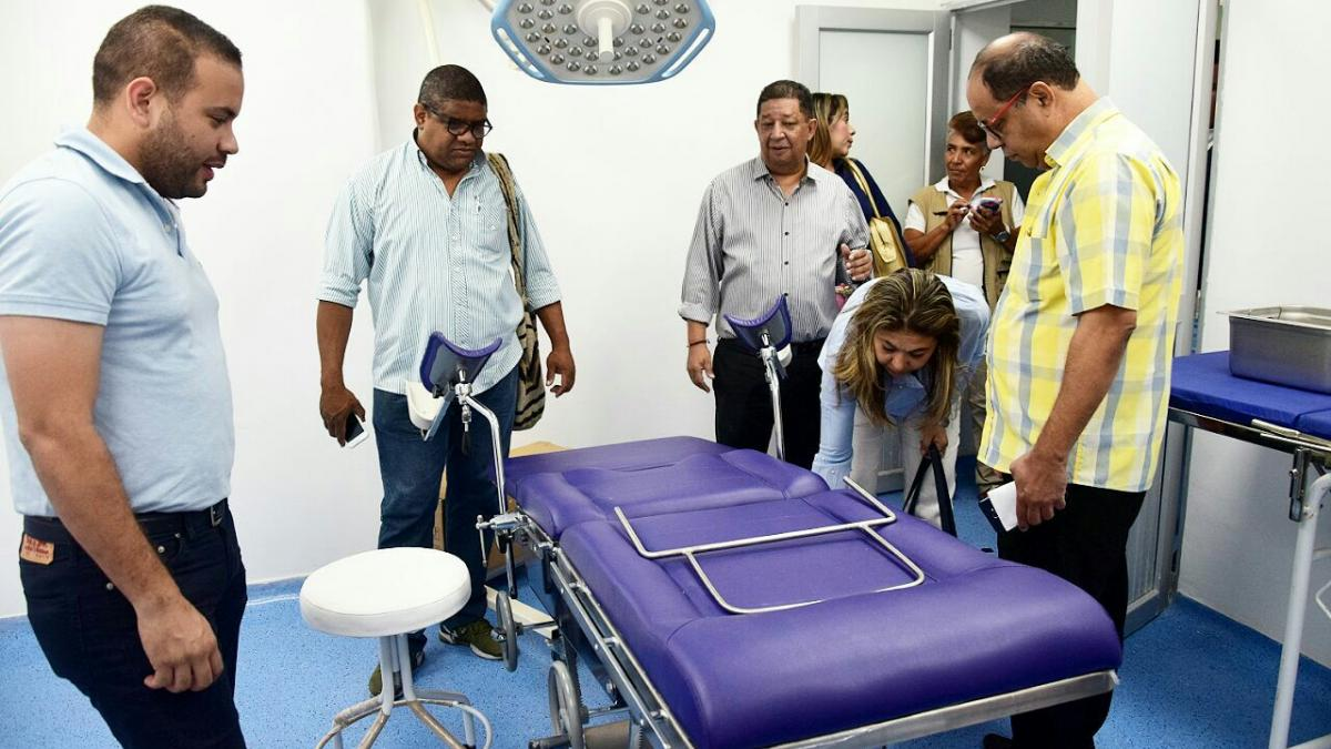 """""""Tenemos un centro de salud digno, el cambio ha sido total"""": líderes de La Paz y Cristo Rey"""