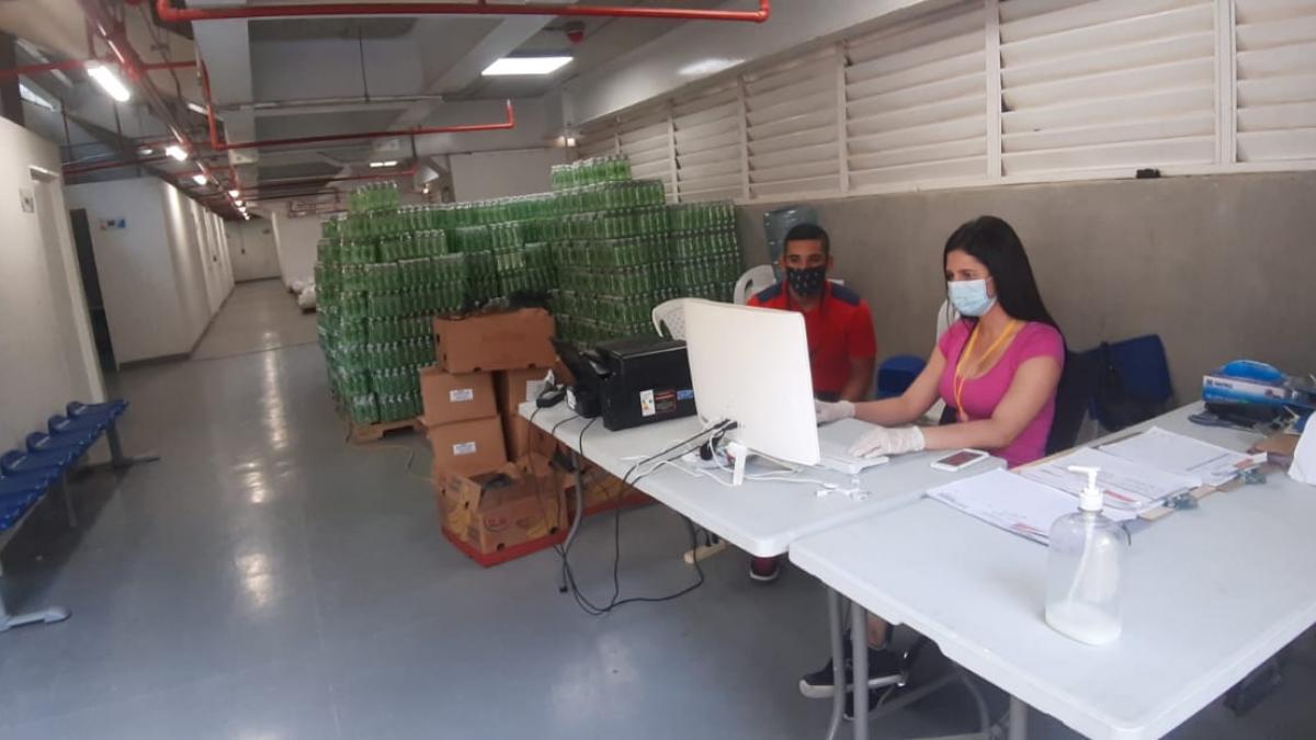 Alcaldía dispuso Unidad Deportiva Bolivariana como Centro de operaciones logísticas por contingencia del covid_19