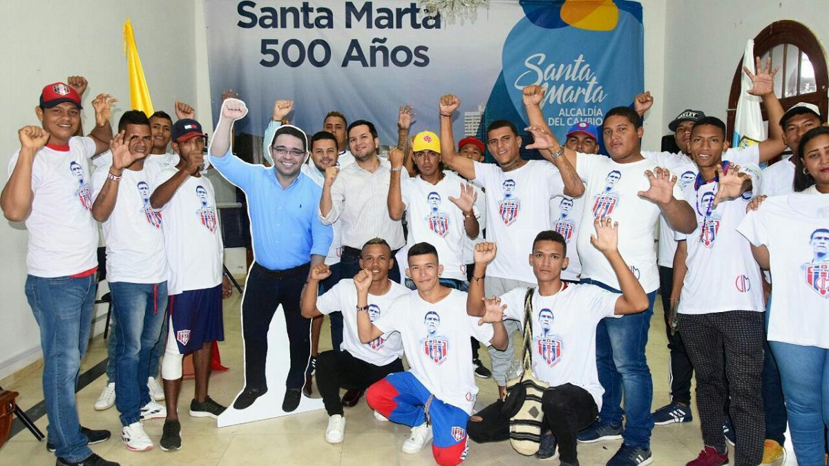 Distrito fortalece potencial laboral de 46 líderes de la Garra Samaria