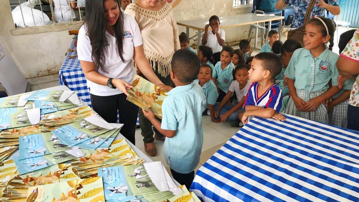 Santa Marta vive la Semana Distrital de la Lectura