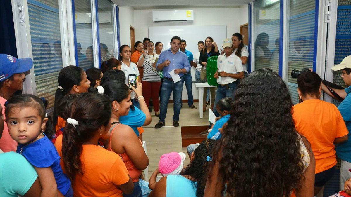 Con el Centro de Referenciación, Distrito descentraliza sus servicios al barrio María Cecilia