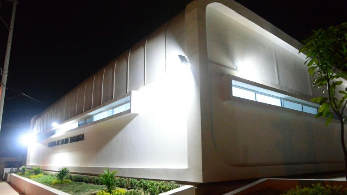 Alcalde Rafael Martínez entregó nuevo centro de salud de Taganga