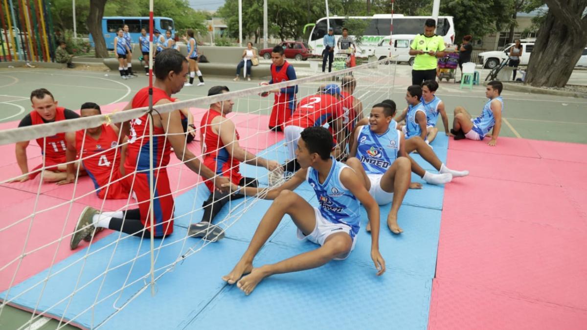 Los deportes adaptados se toman los parques de Santa Marta