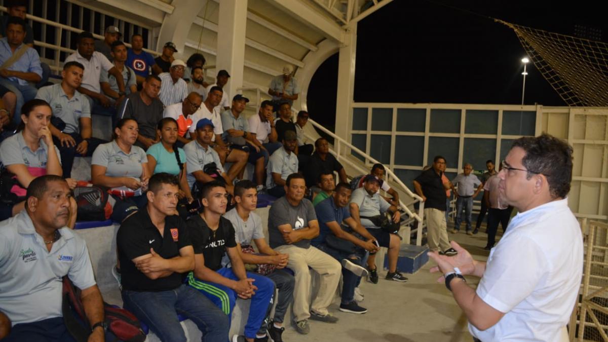 Escuelas Populares del Deporte es prioridad para la Alcaldía del Cambio