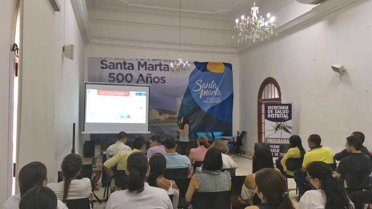 Distrito en sintonía con la Vuelta a Colombia Contra el Dengue