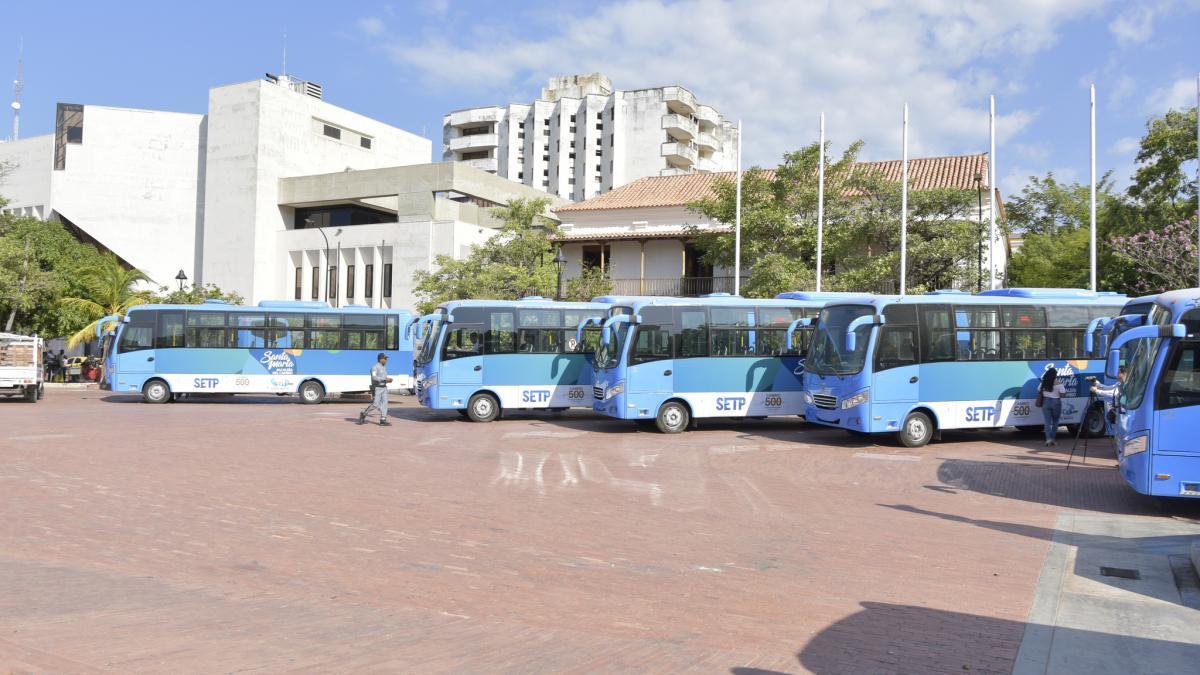 Santa Marta da un paso más hacia un moderno sistema de transporte público colectivo
