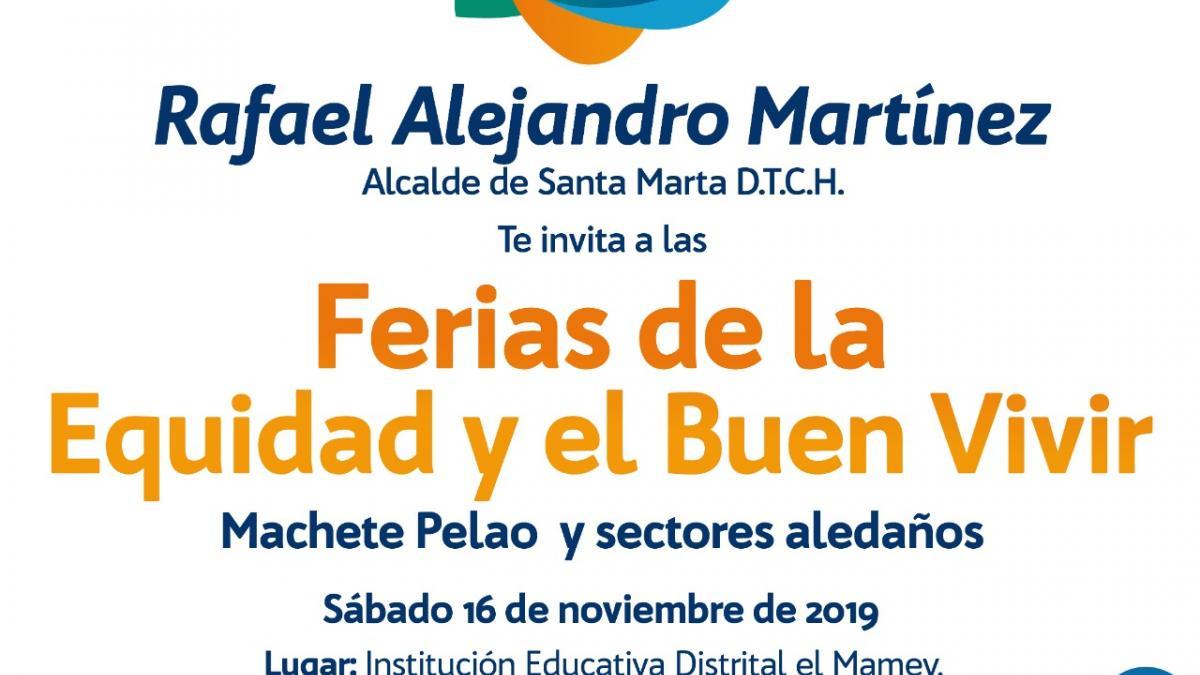 'Machete Pelao' recibirá 'Feria de la Equidad y el Buen Vivir' de la Alcaldía del Cambio