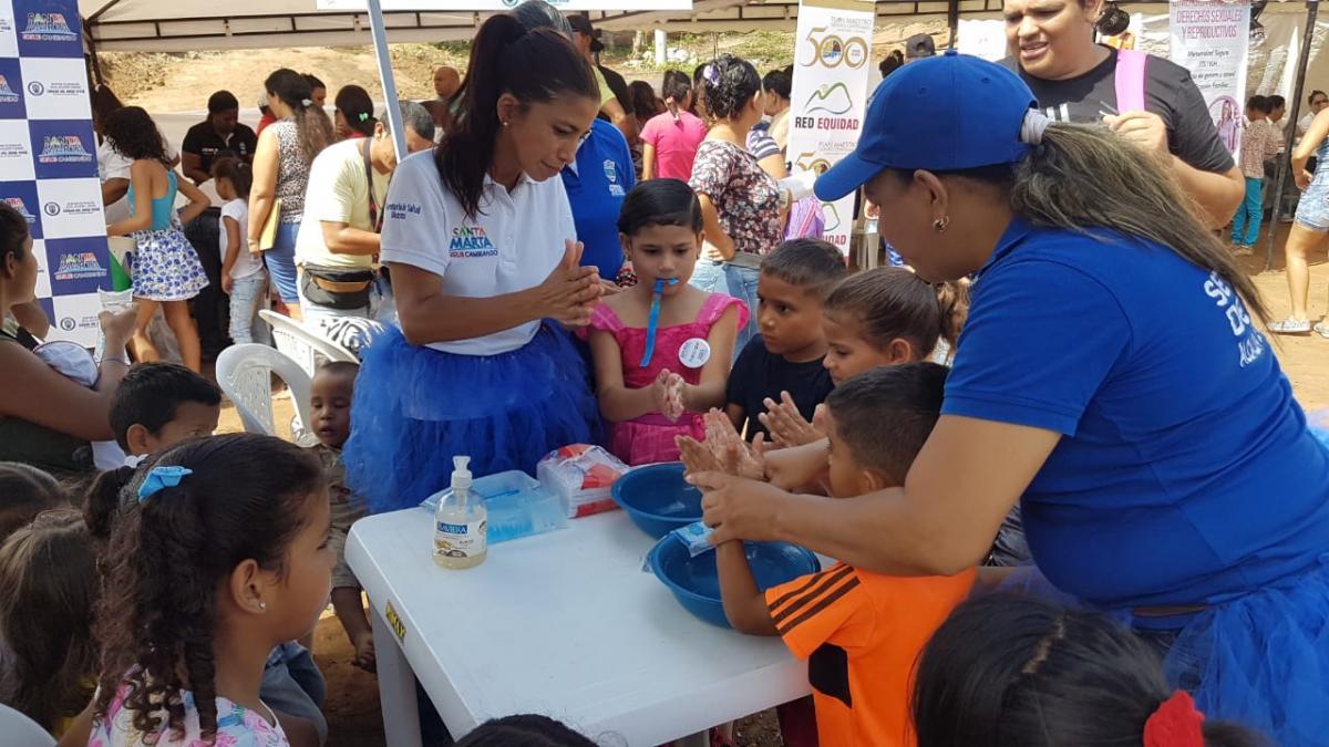 Con gran concurrencia se desarrolló Feria Temática de Salud en el barrio Los Alpes A