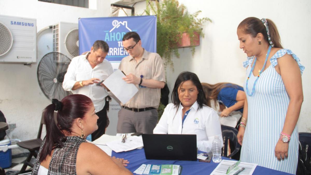 Distrito atendió a dos mil personas en la 'Feria de Vivienda y Bancarización'