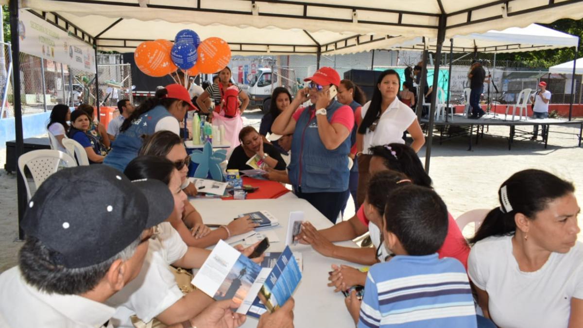 500 habitantes de 'San Jorge' accedieron a la 'Feria de la Equidad y el Buen Vivir' de la Alcaldía