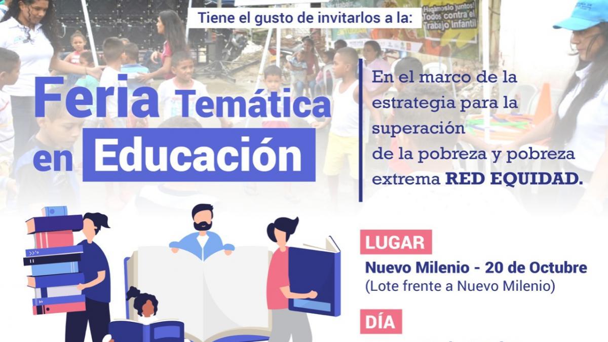 Nuevo Milenio recibe Feria Temática en educación