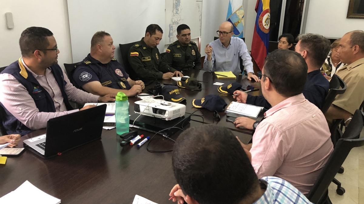 Alcalde (e) Andrés Rugeles invitó a Directora del IDEAM a participar en Comité de Gestión del Riesgo