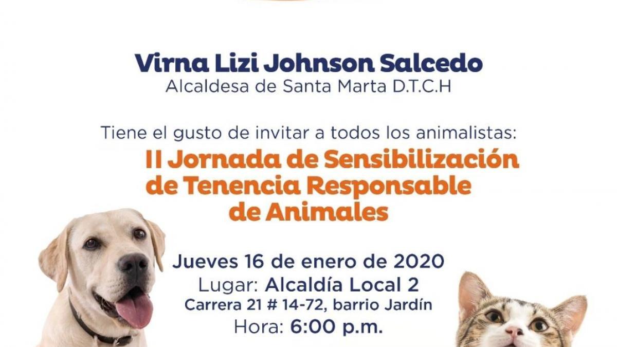 Alcaldía realiza II Jornada de Sensibilización de Tenencia Responsable de Animales