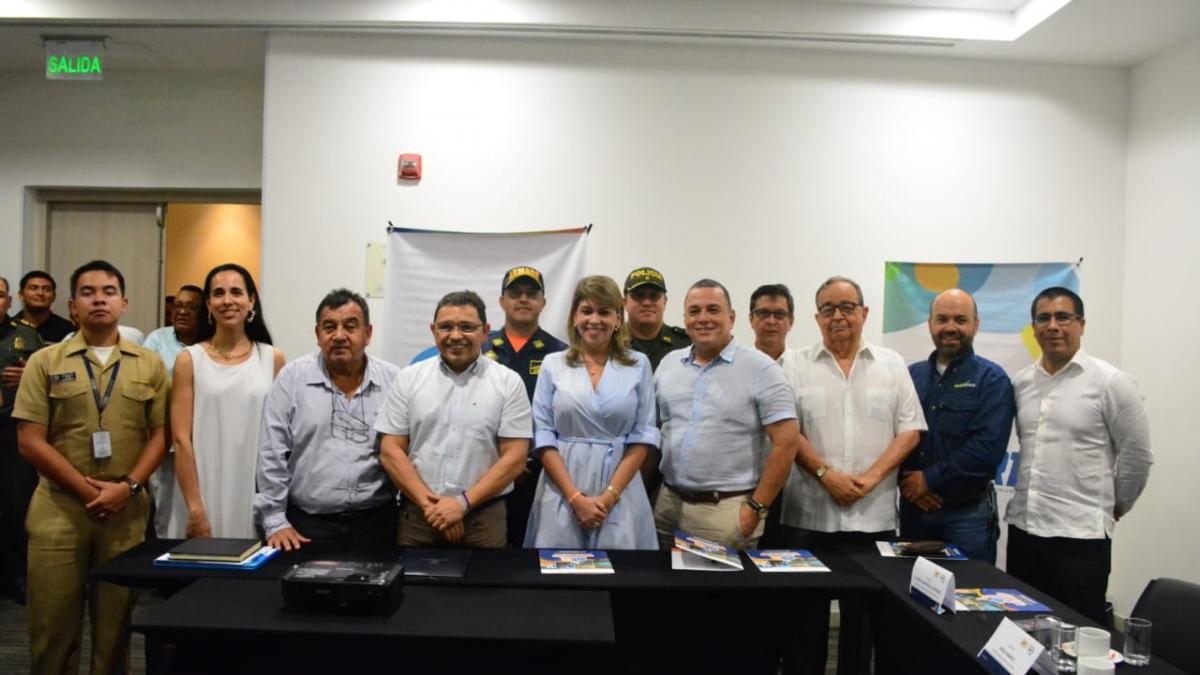 Alcalde Martínez instala comité de candidatura de los V Juegos Suramericanos de Playa 2023