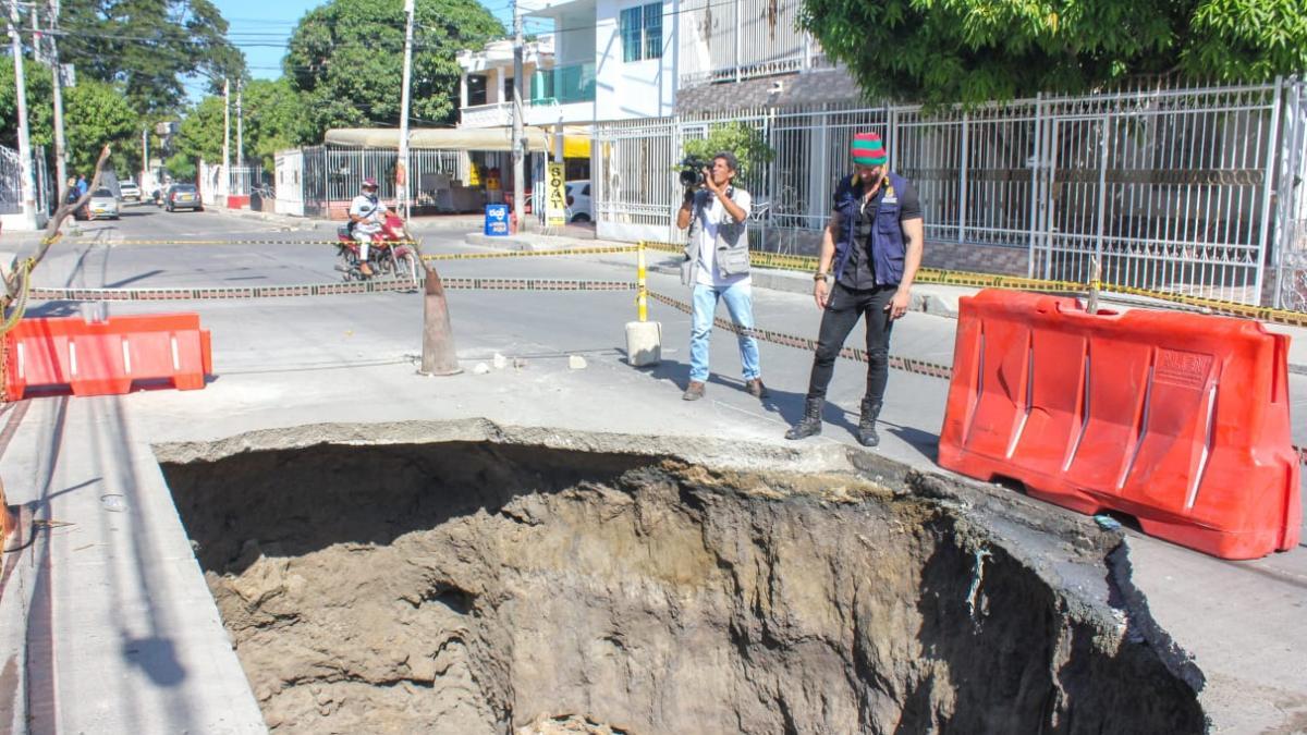 Alcaldía del Cambio y ESSMAR intervendrán 300 metros lineales del Colector de Villa Alejandría