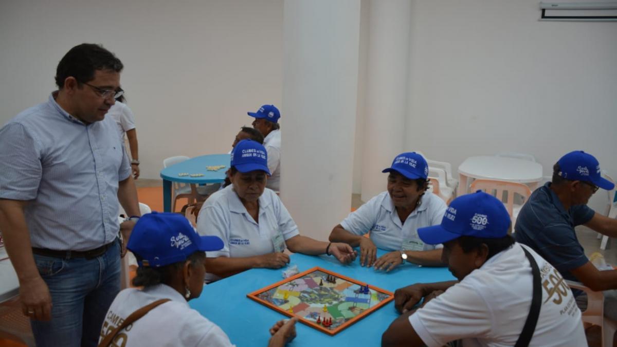 500 abuelitos beneficiados con la puesta en funcionamiento del Centro de Vida de Bastidas