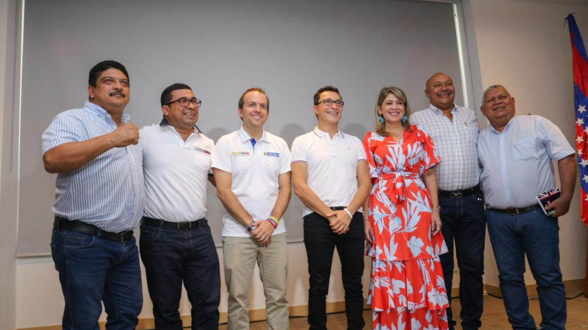 Alcaldesa comprometió a MinDeporte para consolidar a Santa Marta como capital de eventos deportivos internacionales