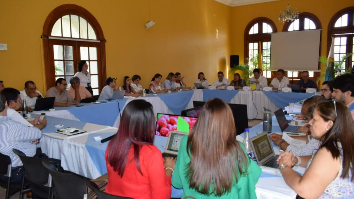 Secretaría de Salud participó en la II Mesa Migratoria en la Alcaldía