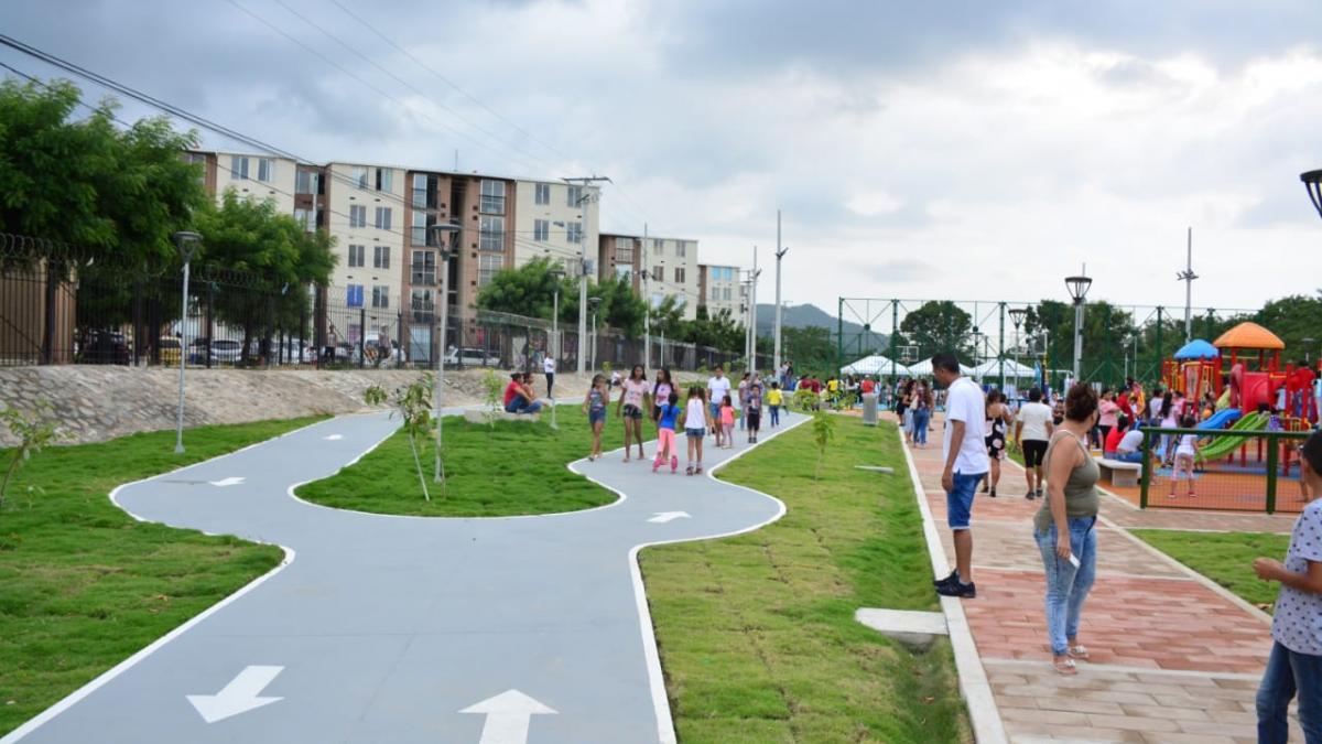 Parque del Sol, la nueva obra del Cambio que beneficia a 1.310 familias samarias