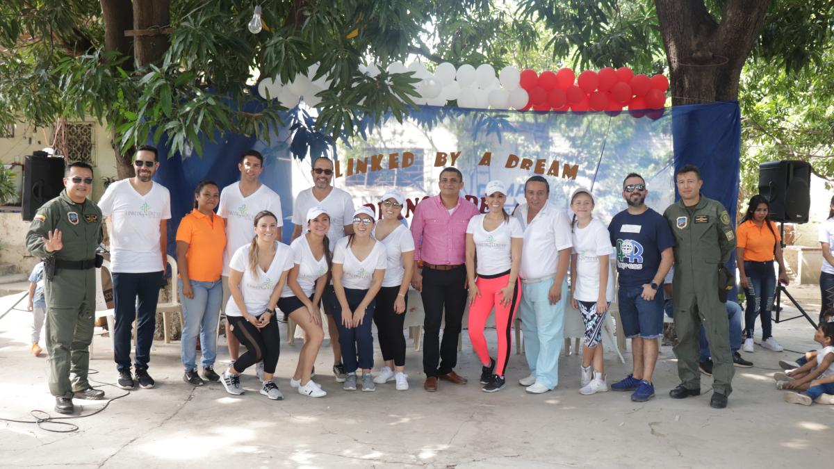 Fundación Linked by a Dreams Donara nueva sede educativa para la I.E.D Ondas del Caribe