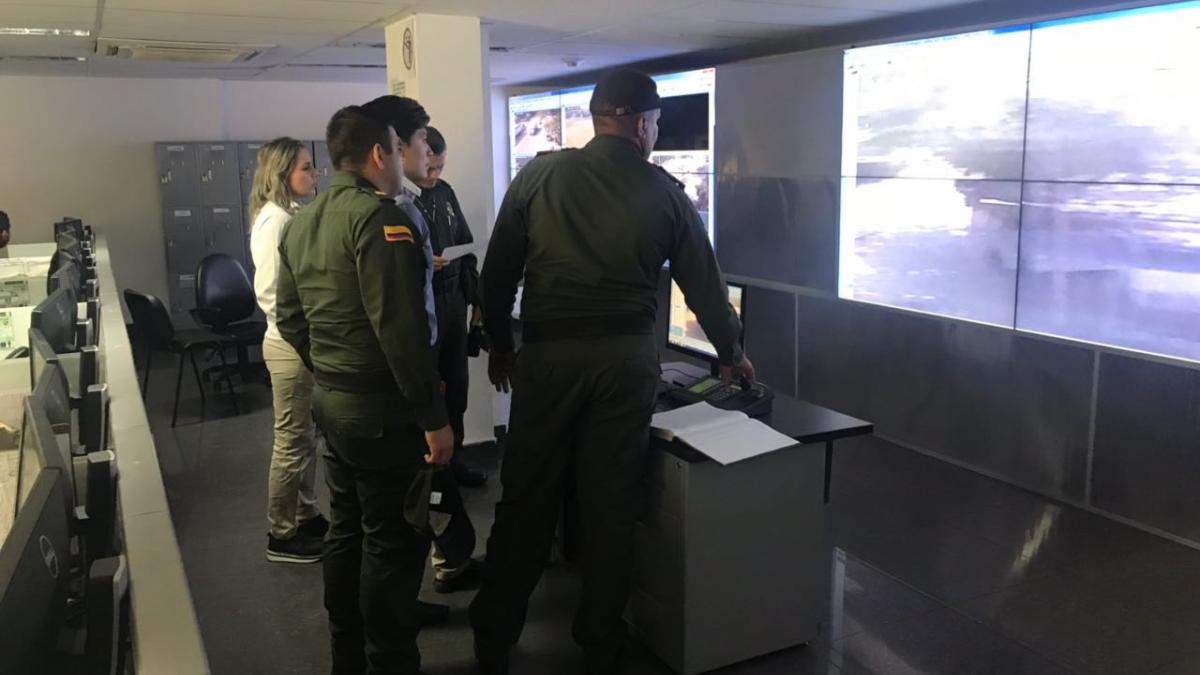 Distrito inició trabajos de mantenimiento a las cámaras de seguridad
