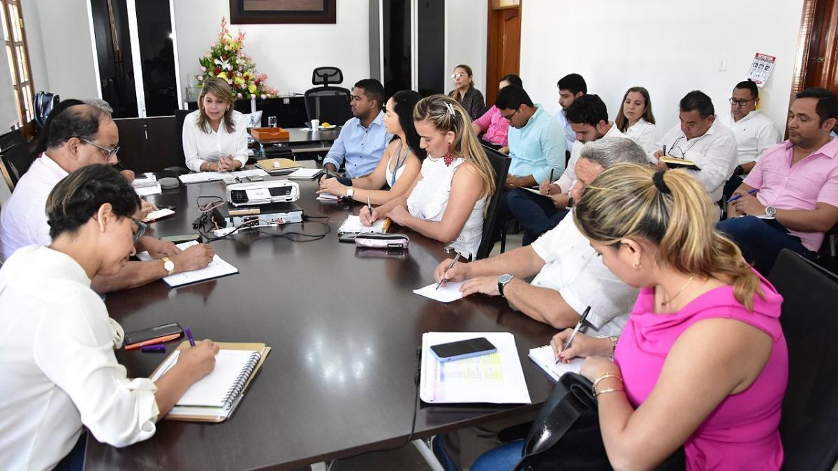 Alcaldesa Virna Johnson lideró 1er Consejo de Gobierno y definió metodología para construcción del Plan de Desarrollo