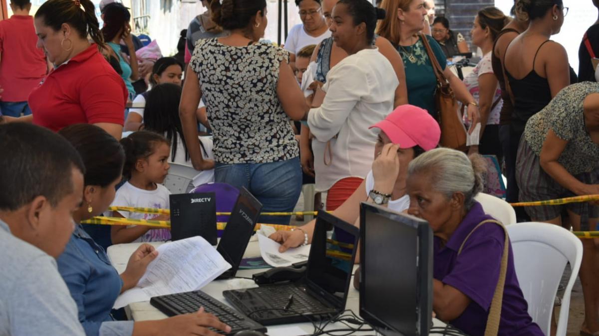 783 habitantes de  Garagoa accedieron a 'Feria de la Equidad y el Buen Vivir' de la Alcaldía del Cambio