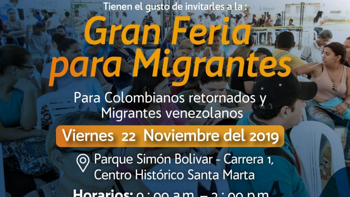 Alcaldía del Cambio realizará 'Gran Feria para Migrantes'