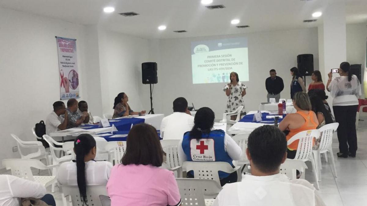 Alcaldía coordinó sesión de Comité de promoción y prevención de ITS y VIH-SIDA