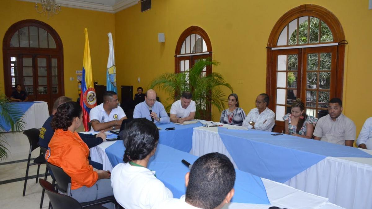 Alcaldía y UNGRD presentan avance del Plan de Acción por el desabastecimiento del Agua en Santa Marta.
