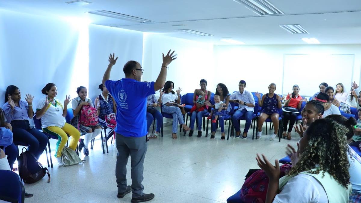 Programa Mundial de Alimentos  exalta P.A.E. de la alcaldía del cambio en Santa Marta