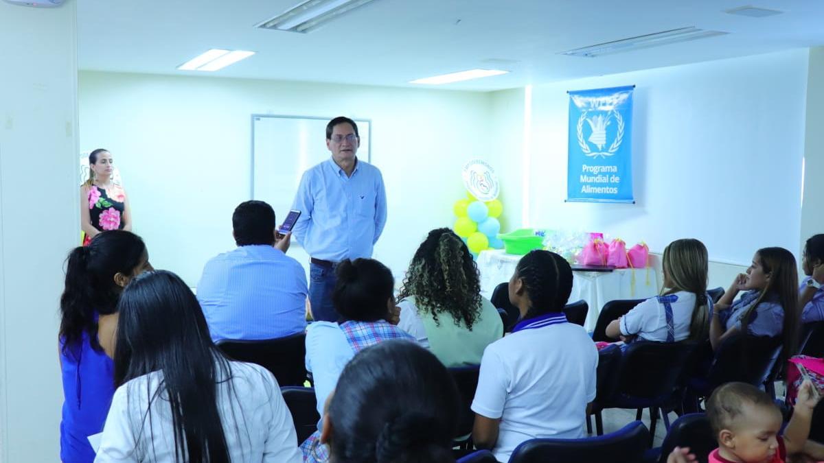 P.A.E. Santa Marta realizó con éxito taller de lactancia materna, nutrición y género