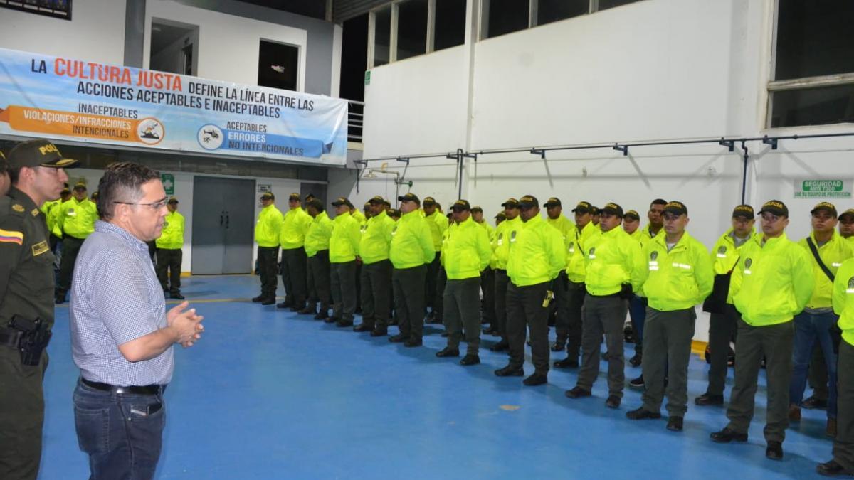 Alcalde Martínez y Policía  lideran operativos de seguridad  por toda Santa Marta