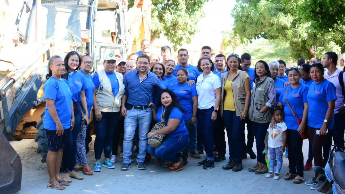 Alcalde Martínez inició obra de acueducto y alcantarillado para beneficiar a mil personas en San Pablo