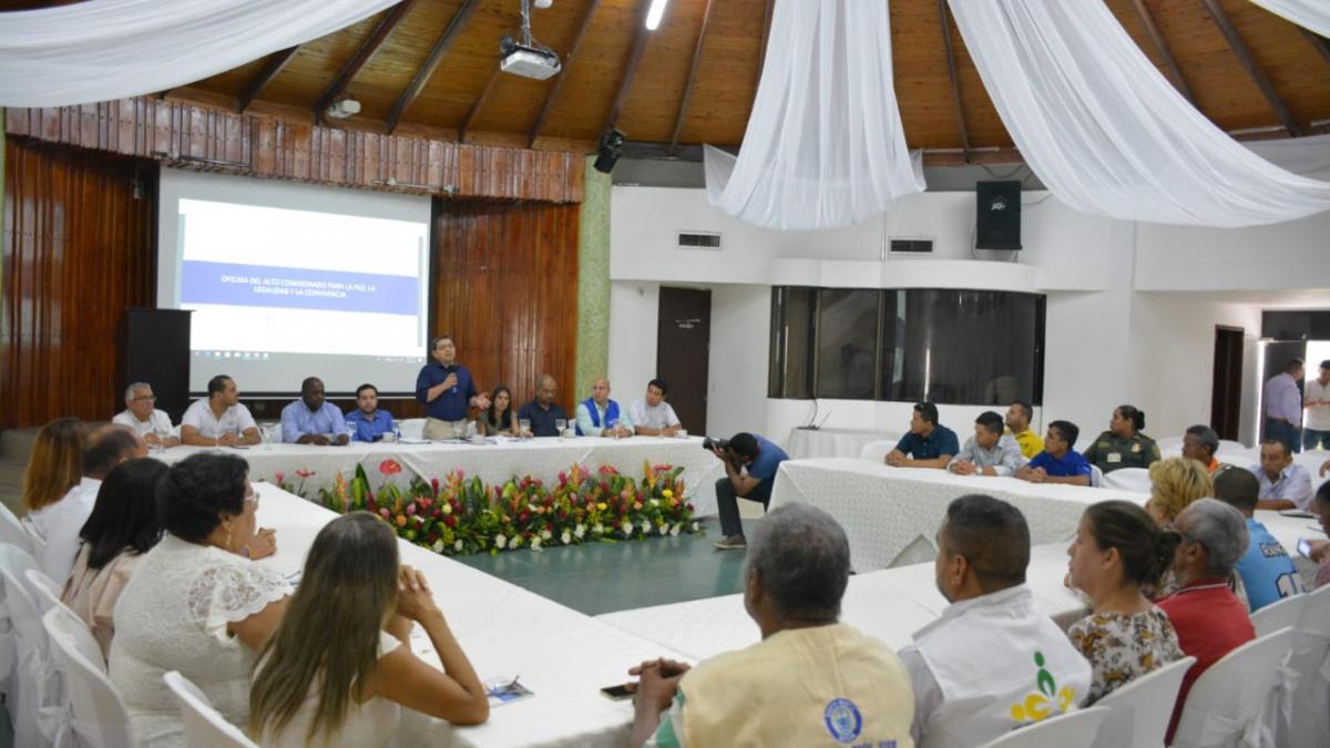 Instalado Consejo Territorial de Paz, Reconciliación y Convivencia de Santa Marta