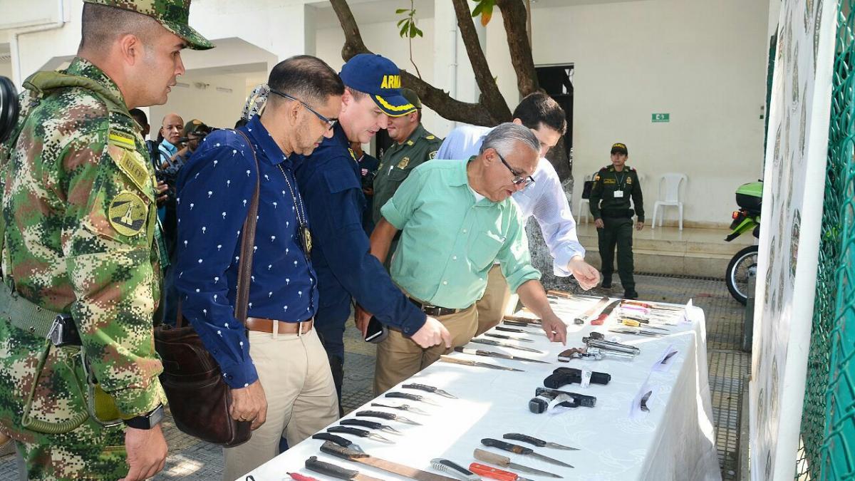 El alcalde de Santa Marta le declara la guerra a la criminalidad en todas sus formas