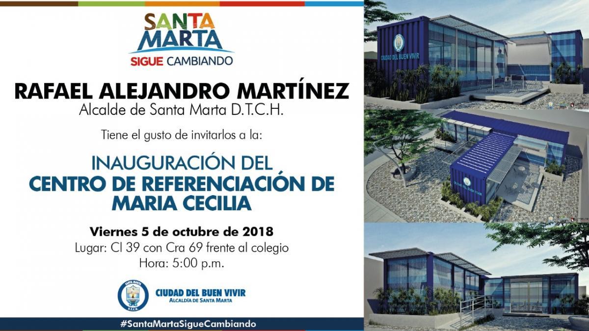 Alcalde pondrá en funcionamiento Centro de Referenciación en María Cecilia