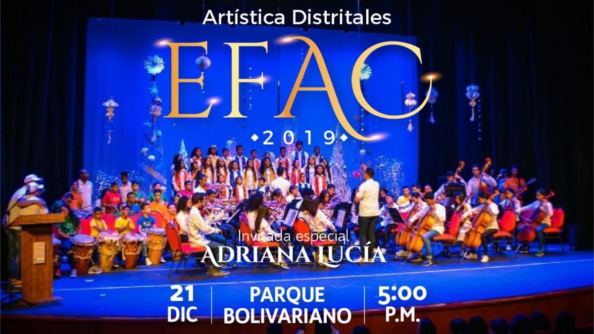 Gran clausura de la EFAC 2019 en el parque Bolivariano