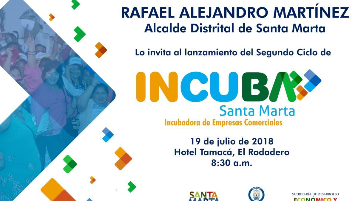 Distrito da inicio al segundo ciclo de Incuba Santa Marta