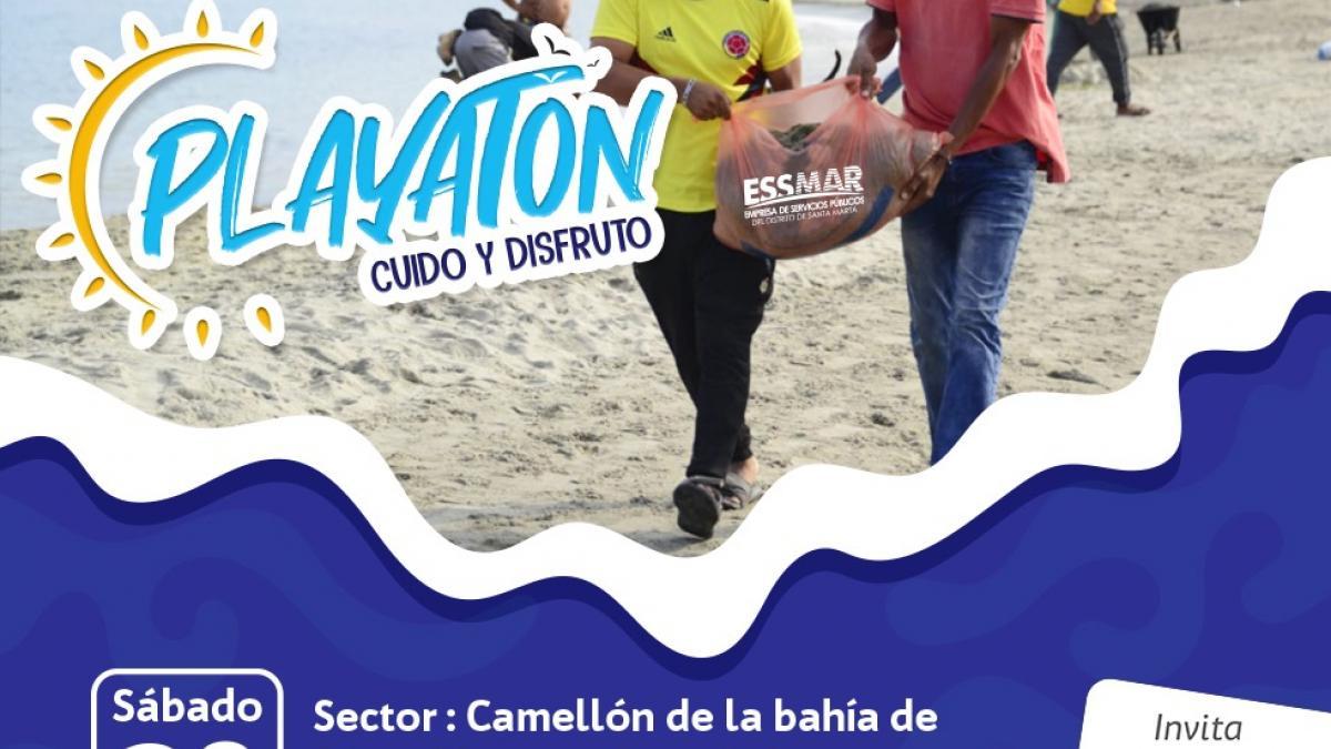"""Essmar realizará Playatón en la Bahía y """"Los Cocos"""""""