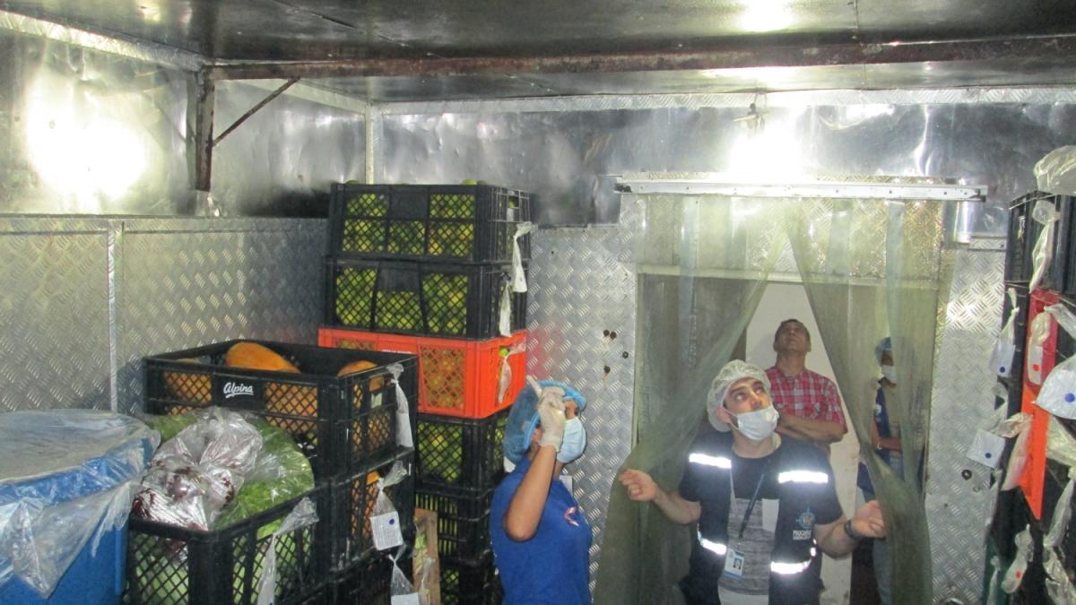 Distrito continúa seguimiento sanitario al Centro Carcelario Rodrigo de Bastidas