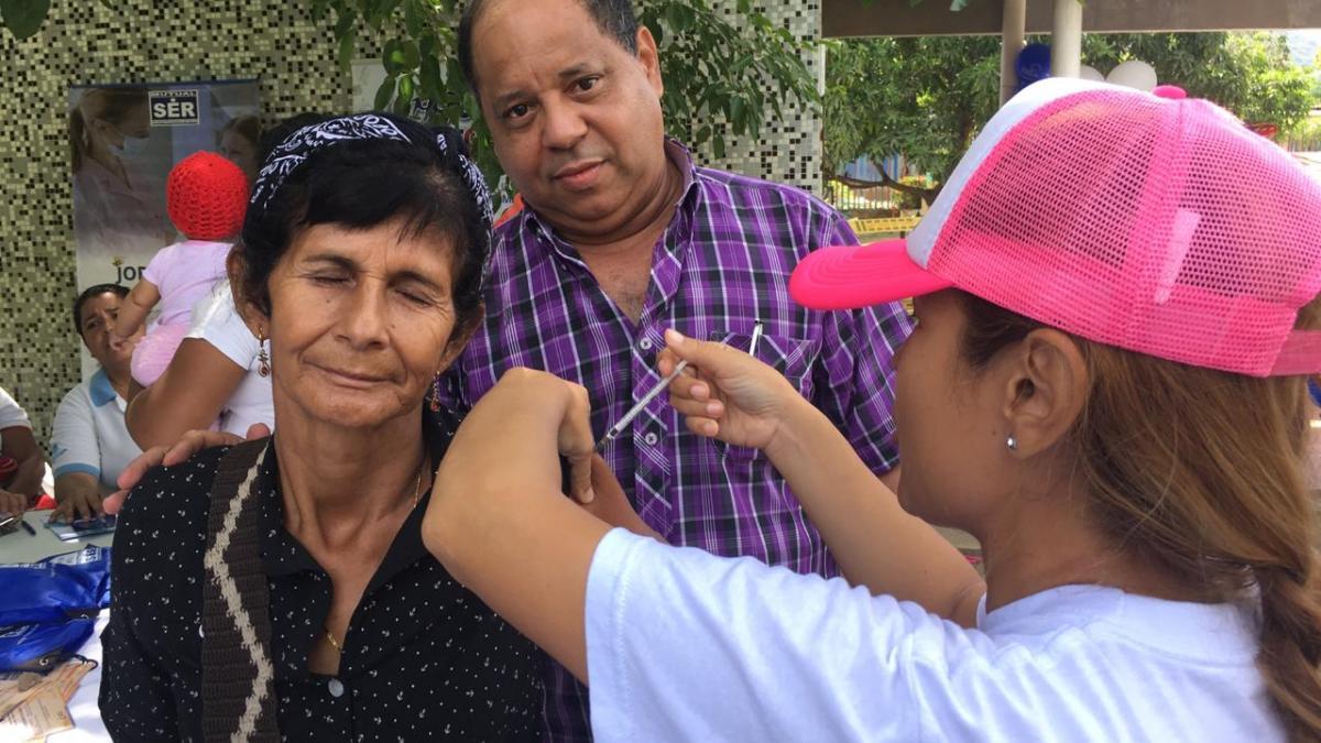 1159 dosis, balance de la IX Jornada Distrital de Vacunación